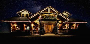 Blockhauser restaurants Cabane de Marie gebäude 2002