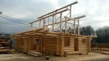 Log Cabin terminée.